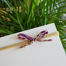 Ozdoby do vlasov - Čelenka kvetovaná - 10916100_