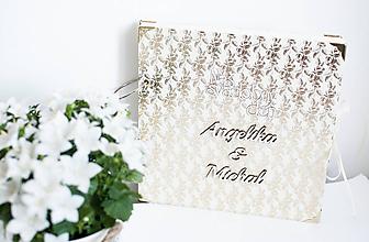 "Papiernictvo - Svadobný scrapbook album "" Angelika"" - 10914968_"