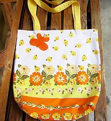 Nákupné tašky - Leto - nákupná taška - 10914598_