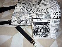 Veľké tašky - Taška - Noviny. - 10914405_