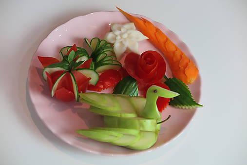 Online kurz vyrezávania do ovocia a zeleniny- Pre začiatočníkov