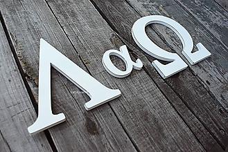Tabuľky - iniciály v greckej abecede... - 10918488_