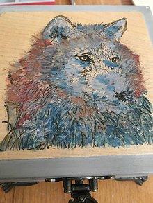 Krabičky - Ručne maľovaná šperkovnica so zvieracím znamením VLČICA - 10918869_