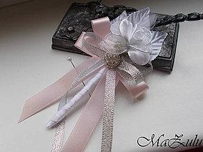 Pierka - Svadobné pierko v ružovom III. - 10919874_
