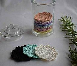 Úžitkový textil - Zero waste odličovacie tampóny - 10917901_