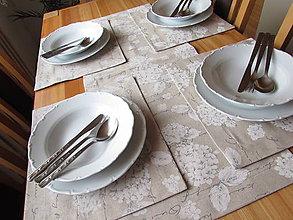 Úžitkový textil - Prestieranie Hortenzie - 10917409_