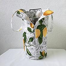 Iné tašky - Taška na obedár citrónová - 10919342_