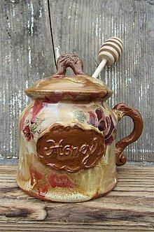 "Nádoby - Medovnička (nádoba na med) ""Honey"" - 10918570_"