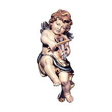 Socha - Anjelik s husľami - 10917268_