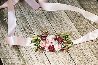 """Opasky - Kvetinový opasok """"pre Artemis"""" - 10918944_"""