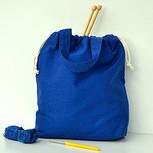 Iné tašky - Tvoritaška kráľovsky modrá - 10917483_