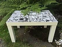 Nábytok - WOW stolík - 10918137_