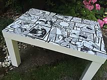 Nábytok - WOW stolík - 10918138_