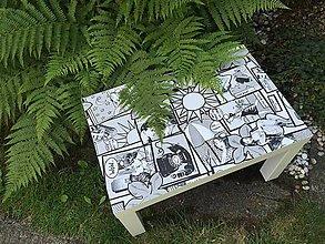 Nábytok - WOW stolík - 10918133_