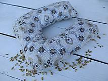 Úžitkový textil - špaldový cestovný vanúš-dospelácky - 10919198_