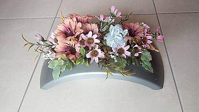 Dekorácie - Spomienkova ikebana I. - 10918607_