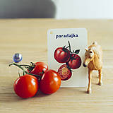 Hračky - Kartičky Zelenina - 10917163_