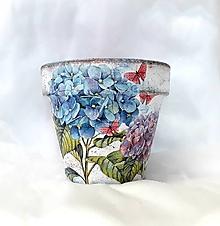 Nádoby - kvetináč hortenzie - 10918072_