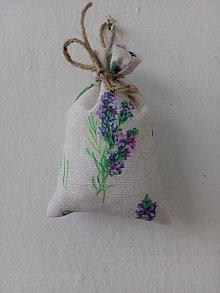 Úžitkový textil - Vrecúško na levanduľu 42 - 10922323_