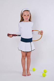 Detské oblečenie - tenisová suknička - 10921430_