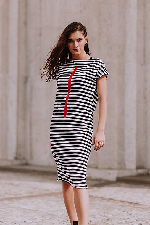 Šaty - FNDLK úpletové šaty 413 RsLu - 10920751_