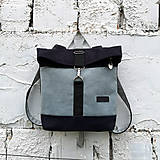 Batohy - Batoh Alex (čierno-šedomodrý) - 10921096_
