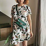 Kabelky - Kožená kabelka MiniMe (zelená) - 10921156_