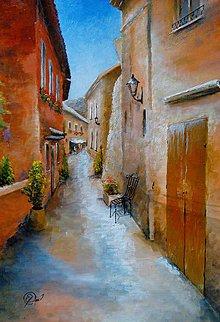 Obrazy - Mediteránska ulička - 10920464_