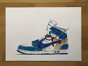 Grafika - Nike off white air jordan print (Červená) - 10921019_