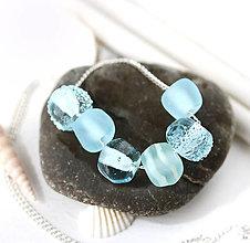 Náhrdelníky - Sea water náhrdelník /l-105 - 10922322_