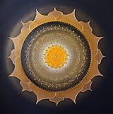 Obrazy - Mandala SLNKO V DUŠI 60 x 60 - 10920903_