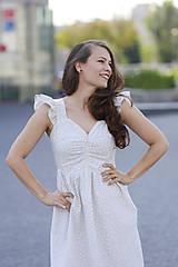 Šaty - Šaty AMÉLIE na dojčenie  (L) - 10920251_