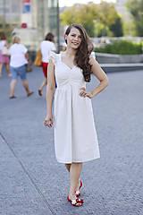 Šaty - Šaty AMÉLIE na dojčenie  (L) - 10920253_