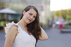 Šaty - Šaty AMÉLIE na dojčenie  (L) - 10920255_