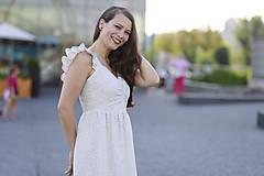 Šaty - Šaty AMÉLIE na dojčenie  (L) - 10920257_