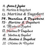 Darčeky pre svadobčanov - Čokoládové menovky, darček na redový tanec - 10921241_