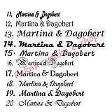 Darčeky pre svadobčanov - Čokoládové menovky, darček na redový tanec - 10922538_