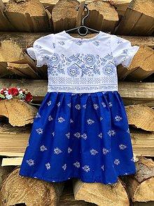Detské oblečenie - Detské folklórne šaty Lilka - 10921716_