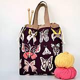 Iné tašky - Motýľová taška ~ tvoritaška + nákupná - 10922324_