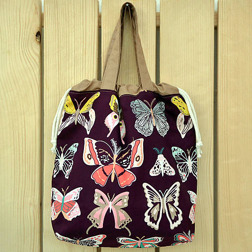 Motýľová taška ~ tvoritaška + nákupná