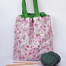 Iné tašky - Taška ružičková ~ tvoritaška + nákupná - 10922309_