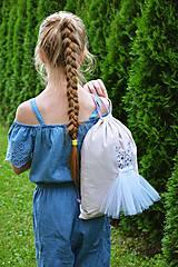 Detské tašky - Detský vak / batoh / ruksak - BALETKA - 10920394_