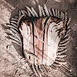Hodiny - RAW Resin - Teakové drevené hodiny - 10921887_