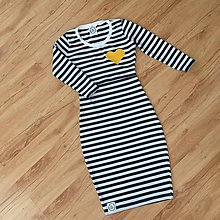 Šaty - Šaty na dojcenie s aplikáciou - 10920527_