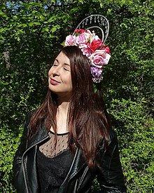 Ozdoby do vlasov - Ruža - 10922052_