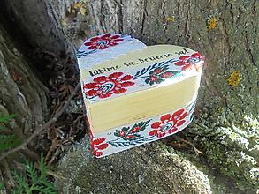 Krabičky - Krabička na prstienky-folk - 10922057_