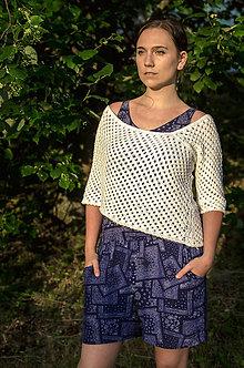 Svetre/Pulóvre - Pončo pulover - 10920969_