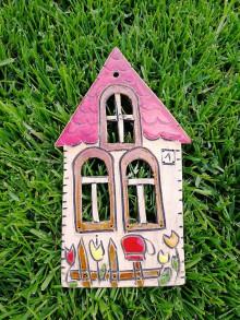 Dekorácie - Závesný domček na stenu č.4 - 10923336_