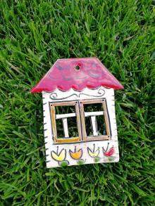 Dekorácie - Závesný domček na stenu č.5 - 10923346_