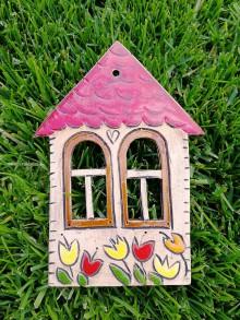 Dekorácie - Závesný domček na stenu č.9 - 10923671_